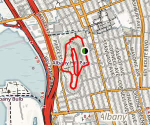 Albany Hill Map