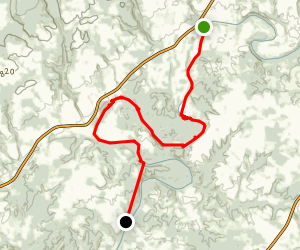 Lower Locust Fork of the Black Warrior River Map