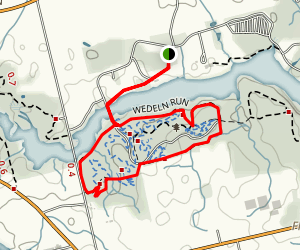 Weldon Run, Lowland Trail, and Hill and Dale Loop Trail Map