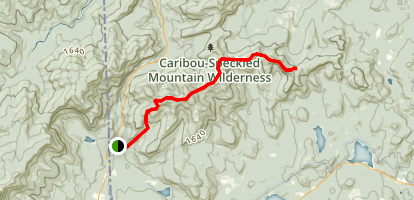 Red Rock Trail Map