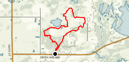 Prairie's Edge Trail Map