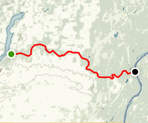 Snake River: Pine City to St. Croix River Map
