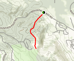 Boyne Mountain Via Kunkle's Cut Ski Trail Map