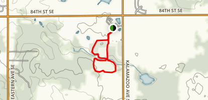 Prairie Wolf Park Loop Trail Map