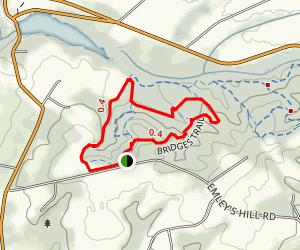 Bridges Loop Trail Map