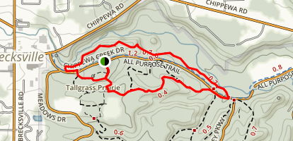 Hemlock Loop Trail Map