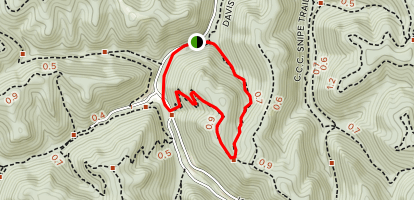 White Hollow Trail Map