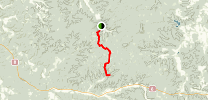 Ozark Trail: Brazil Creek to Smith Mill Hollow Map