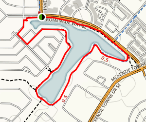 Inverness Pond Loop Map