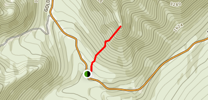 Fishook Trail Map