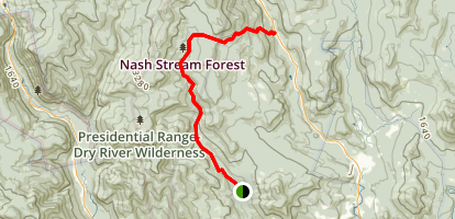 Rocky Branch Trail Map