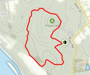 Chapman Pond Loop Map