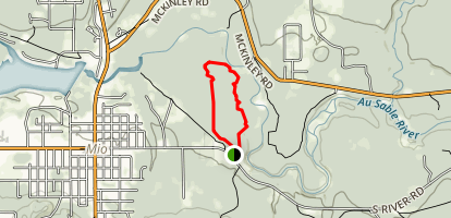 Hinchman Trail Map