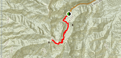 Deseret Peak Map