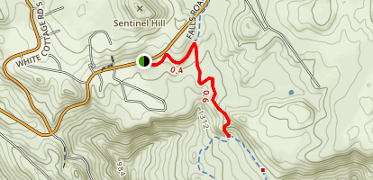 Linda Falls Trail Map