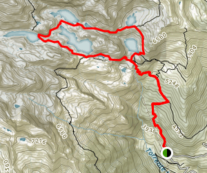 Lago Sucotto, Lago Nero, and Lago d'Aviasco Loop Trail Map
