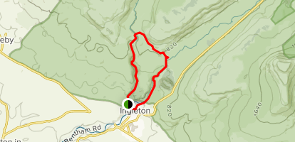 Ingleton Waterfalls Walk Map