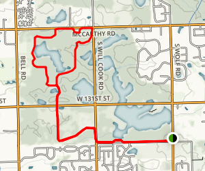 McGinty Slough Map