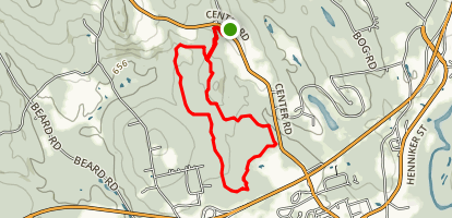 Fox Forest Loop Map