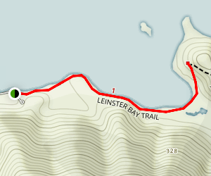 Leinster Bay Trail Map