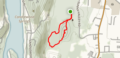 Irene's Woods, Upland Pastures & Towner Hill Preserves Map