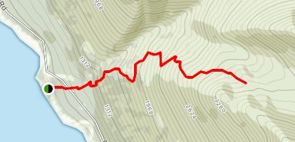 Bold Ridge Hike Map