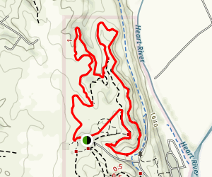Fort Lincoln Loop Trail Map