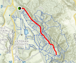 Ridge Road Trail Map