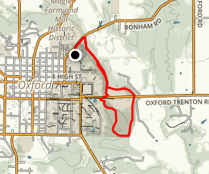 Becks Preserve Loop via North Quad Map