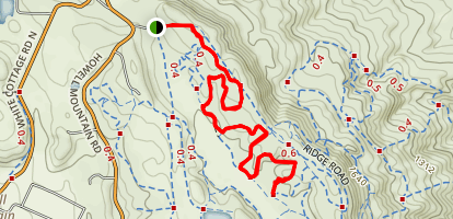 1 Mile Trail Map