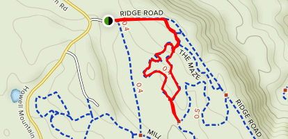 The Maze Trail Map