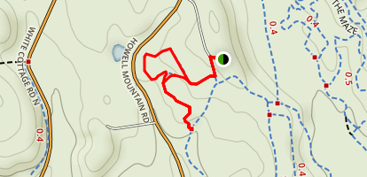 Northern Loop Singletrack Map