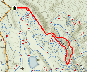 Grave Hill Loop Trail [PRIVATE PROPERTY] Map