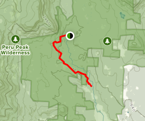 Utley Brook Trail Map
