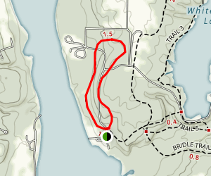 Veterans Vista Loop Trail Map
