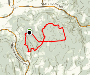 James D. Kennedy State Forest Figure 8 Trail Map