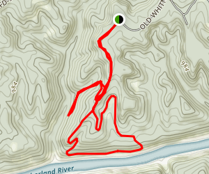 Nathan McClure Trail Map