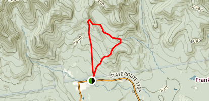 Mount Mexico Loop Trail Map