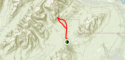 Gopher Gulch Loop Trail Map