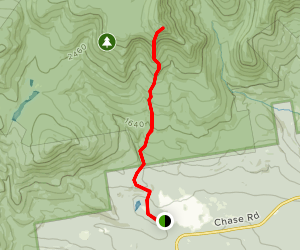 Mount Whiteface via McCrills Trail Map