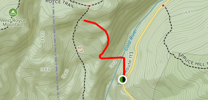 Laughing Lion Trail Map