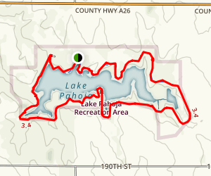 The Pahoja Recreation Trail Map