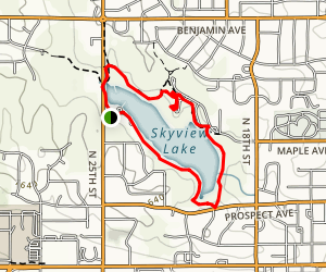 Norfolk-Skyview Trail Map
