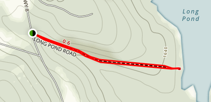 Long Pond Road Map