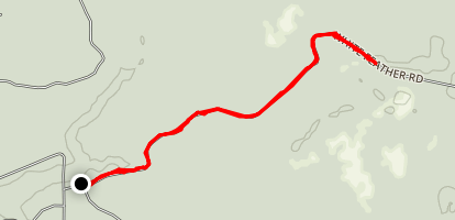Guernsey Creek Trail Map