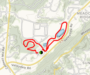 Veterans Park Loop Trail Map