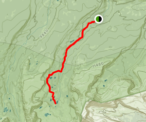 Henry's Fork Lake Trail Map