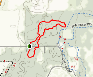 Chain O' Lakes State Park Trail Map