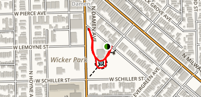 Wicker Park Map