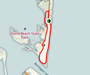 Island Beach State Park Loop Trail Map